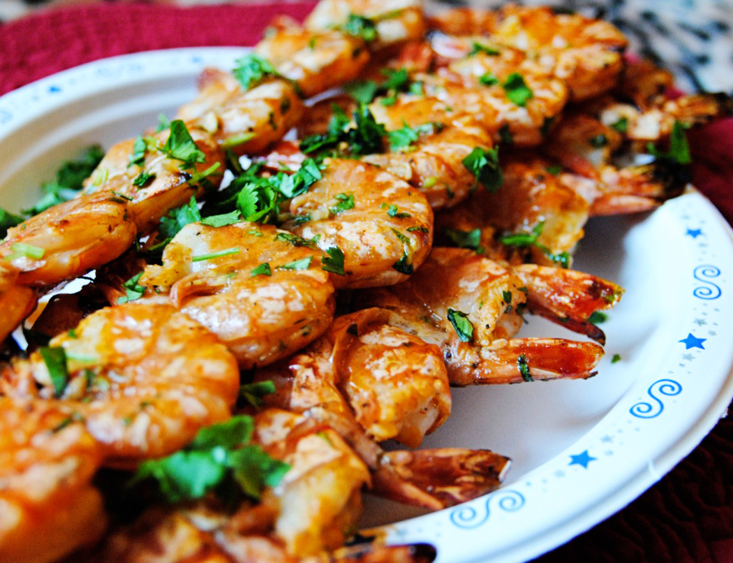 Spicy Grilled Shrimp Skewers | Soph n' Stuff