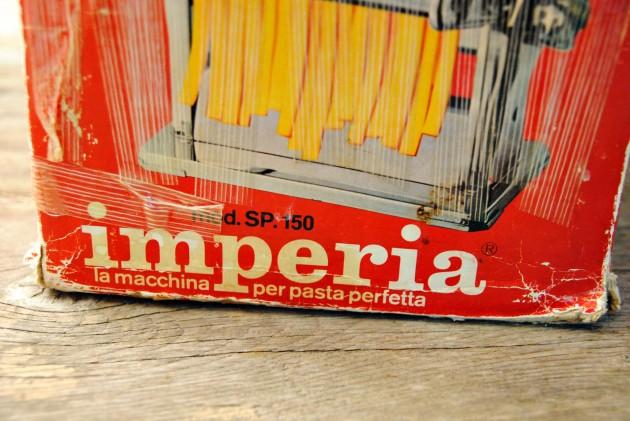 Imperia pasta roller