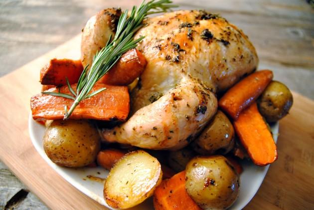 Chicken pot roast