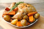 Pot roast chicken