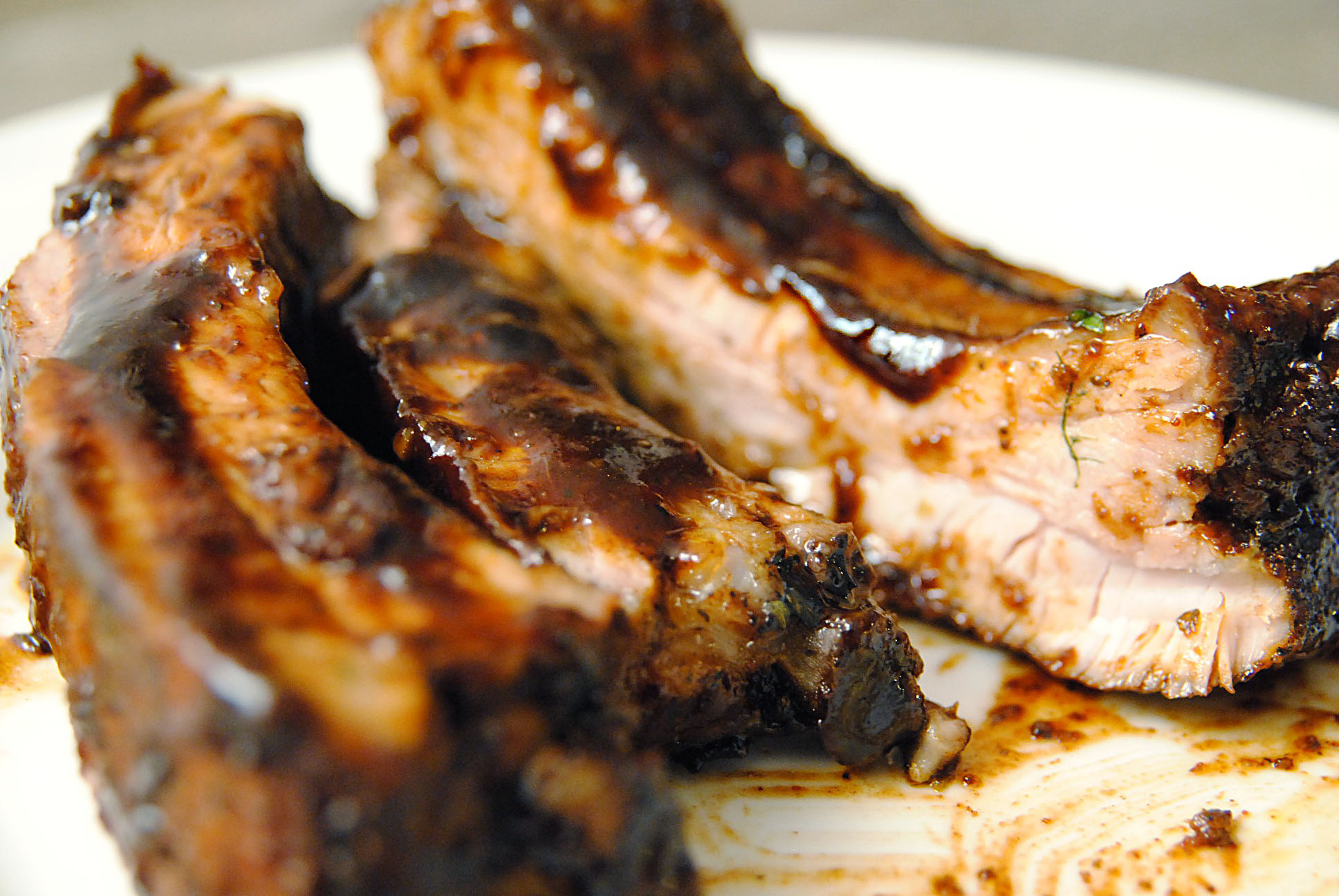 how to cook ribs with bbq sauce