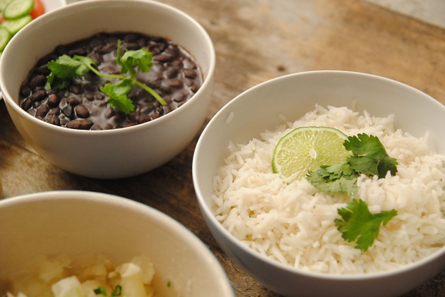 Beans and rice!