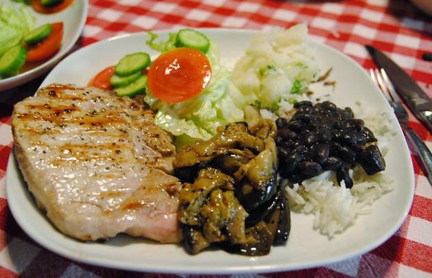 Cuban feast