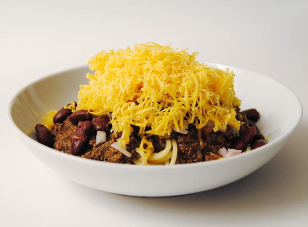 Cincinnati Chili Five Way