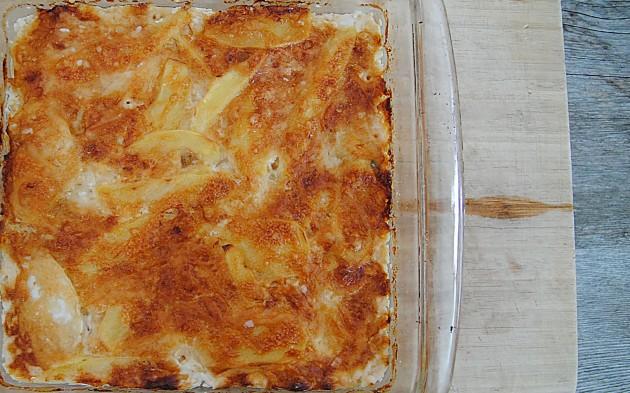 Potato and Celeriac Gratin