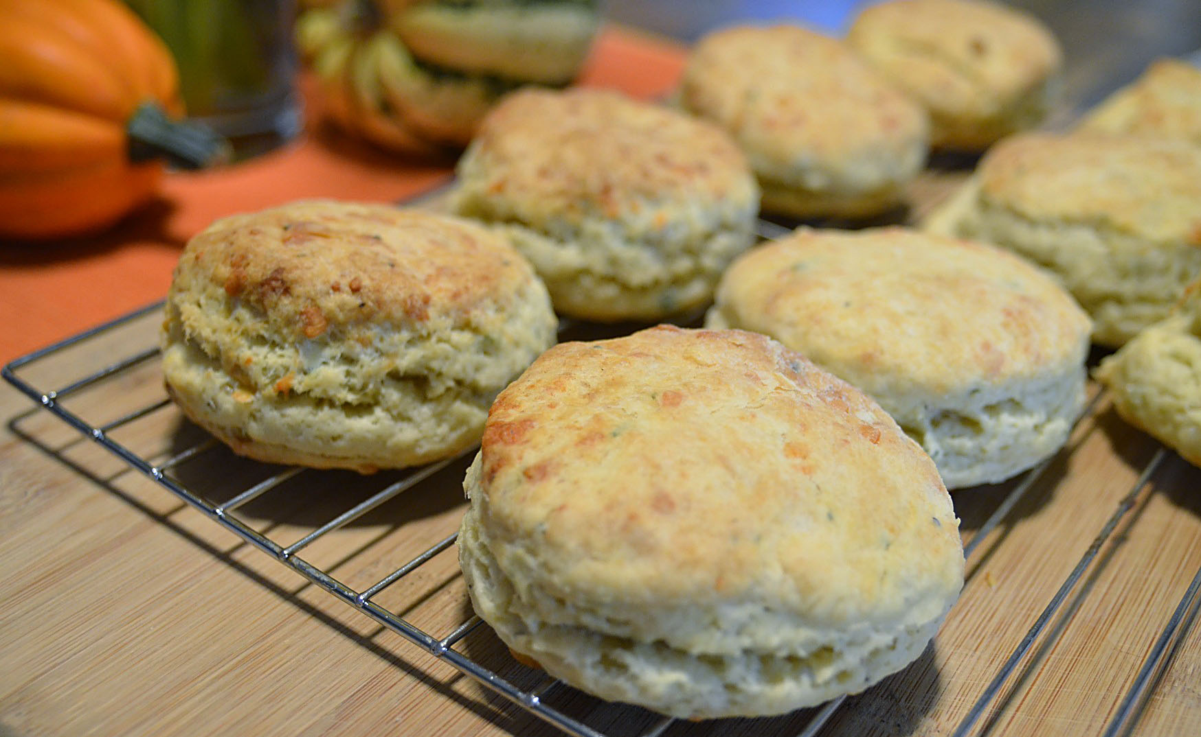Cheddar Sage Biscuits Recipe — Dishmaps