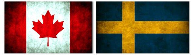 Canada vs. Sweden