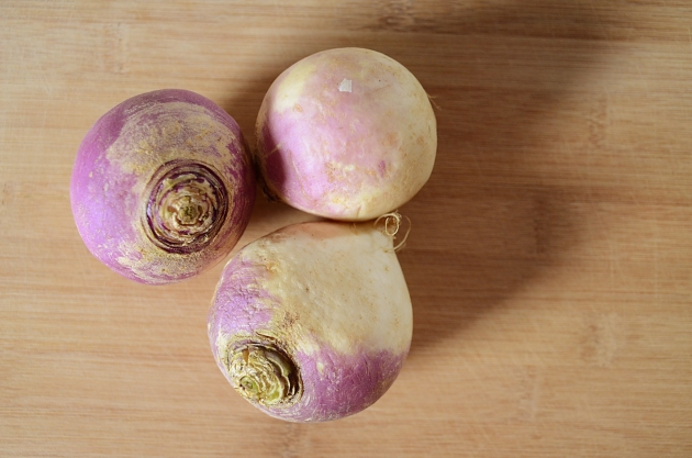 Pickled turnips