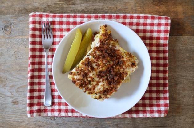 Reuben mac n' cheese