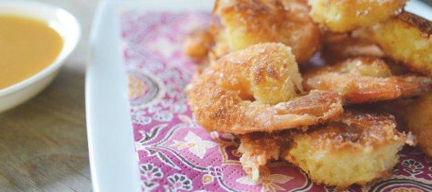 Featured coconut shrimp